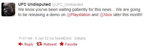 ufc 3 demo announcement
