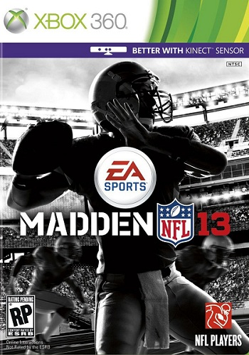 xbox 360 madden 13 cover