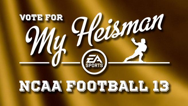 ncaa football 13 heisman vote
