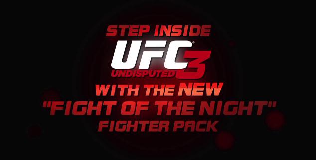 ufc 3 fight of the night dlc